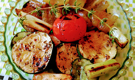 Opékaná nebo grilovaná zelenina