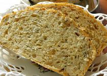 Cuketový chleba bez hnětení