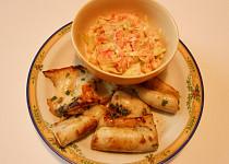 Kalamáry marinované a odlehčený salát Coleslaw  (Dělená strava podle LK - Zvířata)