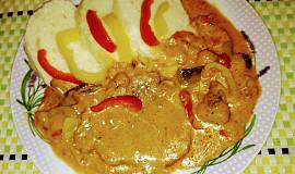 Bakoňské kotlety s paprikami