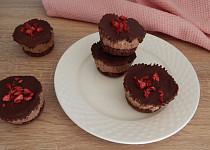 Čokoládovo-arašídové košíčky