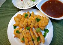 Asijské křupavé kuřecí řízky