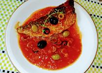 Makrely pečené po řecku
