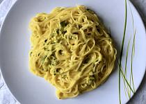 Špagety s citronovou omáčkou