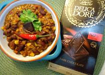 Jednoduché Chilli con carne s chilli čokoládou