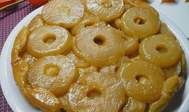 Obrácený jablečný koláč - Tarte Tatin