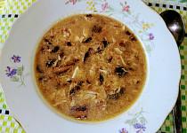 Polévka rychlovka z čerstvých hub