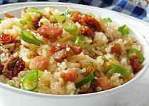 Rychlý oběd nebo večeře (aneb co se zbylou rýží)