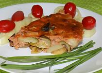 Zelenina zapékaná s červenou kari pastou