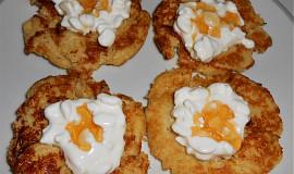 Cuketové placičky na sladko  (Dělená strava podle LK - Zvířata)