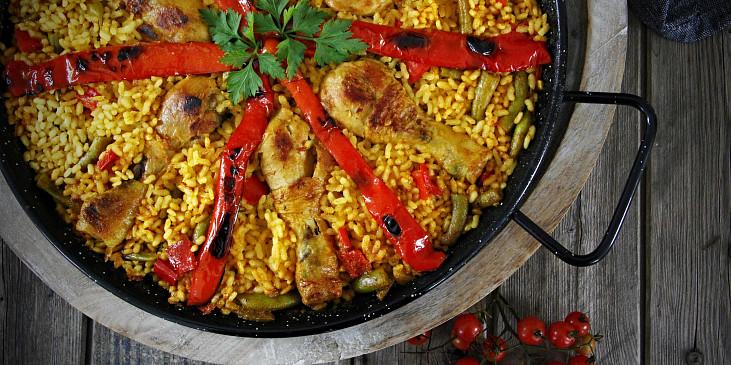 Paella Valenciana a Paella de Marisco