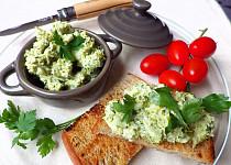 Pomazánka z brokolice a čerstvého sýra