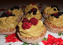 Košíčky s ovocným krémem (Dělená strava podle LK - kytičky+ovoce)