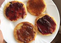Bramborové placky s marmeládou