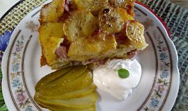 Jednoduché zapékané brambory