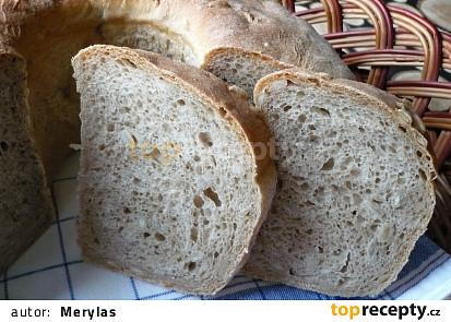 Slunečnicový pšenično-žitný chléb z formy