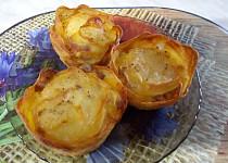 Zapečené křupavé brambory