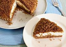 Perníkový koláč s jablky a mascarpone