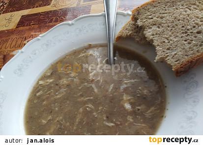 Čočková polévka na kyselo