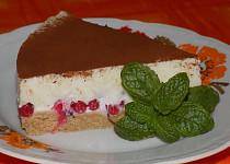 Nepečený jogurtový dort