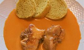 Králík na paprice se zvířátkovým knedlíkem (Dělená strava podle LK - Zvířata)