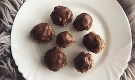Ovesné hrudky s čokoládovou čepičkou