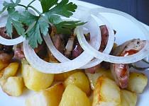 Ražniči z vepřového masa