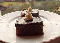 Čokoládovo-tvarohový přelud