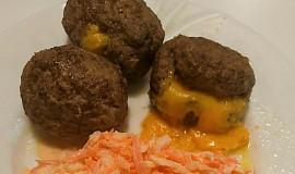Mleté masové koule s ředkvovým salátem  (Dělená strava podle LK - Zvířata)