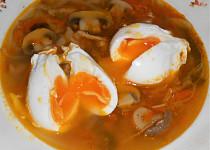 Čínská ostrá sladkokyselá polévka se zastřeným vejcem  (Dělená strava podle LK - Zvířata)