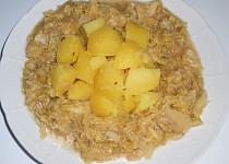 Dušená kapusta  (Dělená strava podle LK - Kytičky+zelenina)