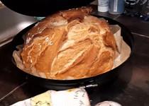 Křupavý domácí chléb v UFO disku na pečení