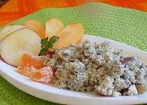 Jáhlový salát s ovocem