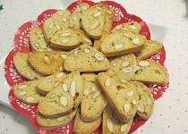 Klasické  italské toskánské Biscotti