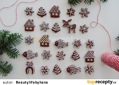 Měkoučké vánoční perníčky