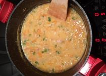 Čočková polévka z červené čočky trochu jinak
