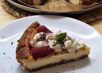 Malinový cheesecake (z remosky)