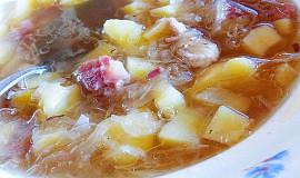 Mazurská zelná polévka