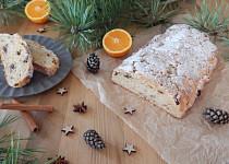 Vánoční tvarohová štola s vůní pomeranče
