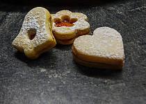 Linecké cukroví - recept z cukrářského učiliště