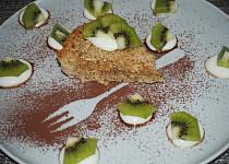 Ovesný jablečný koláč