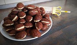 Ořechy s krémem z Mila oplatek