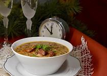 Čočková polévka nejen na Nový rok