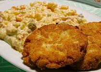 Kuřecí řízečky z vařeného masa a sýru