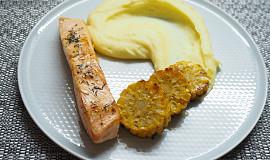 Losos na másle s tymiánem