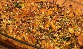 Zapečená zelenina s fazolemi a smetanou - vynikající