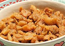 Česnekové škvarky