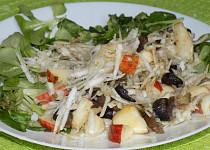 Houbový salát s celerem