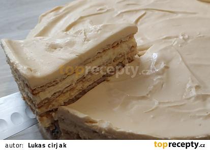 Nepečený salkový koláč se sušenkami