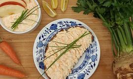 Celerová pomazánka à la humr s mrkví